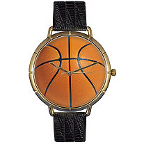 Basketball Lover Photo  Watch Unisex Gold Style