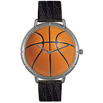 Basketball Lover Photo  Watch Unisex Silver Style