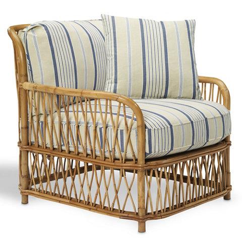 Antibes rattan lounge chair rattan for Ralph lauren outdoor furniture