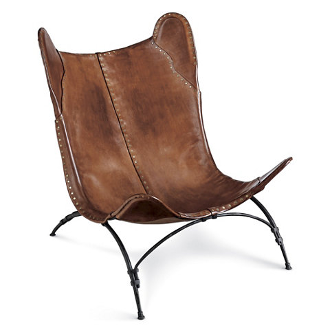 New Safari Camp Chair Saddle Leather Chairs Ottomans