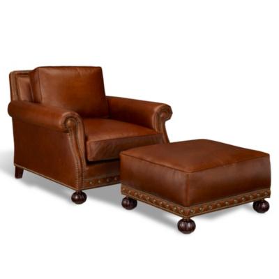 Aran Isles Chair & Ottoman