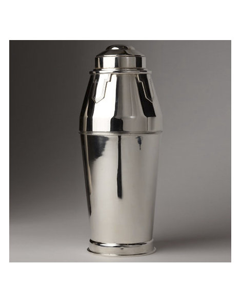 Walker and Hall Art Deco Style Cocktail Shaker
