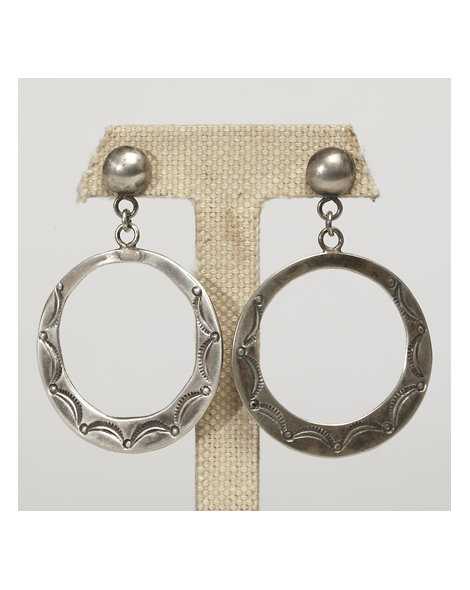 Contemporary Artisan Hoop Earrings
