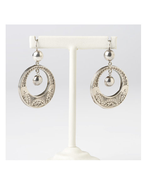 "Victorian ""Hoop"" Earrings"