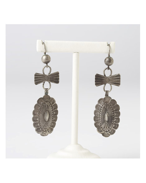 Concho Link Earrings