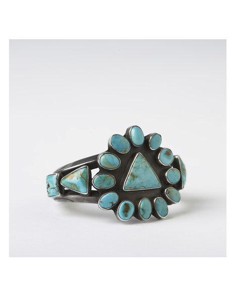 Triangle Turquoise Bracelet