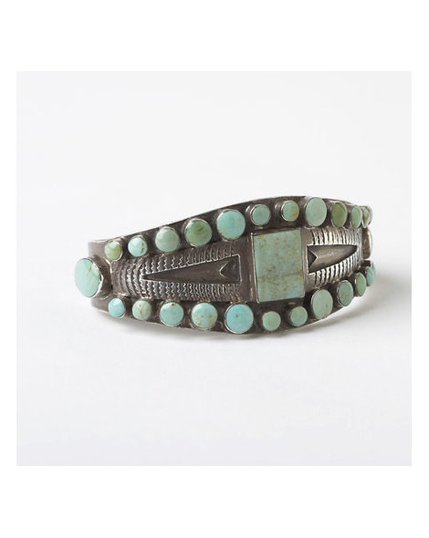 Early Turquoise Tourist Bracelet