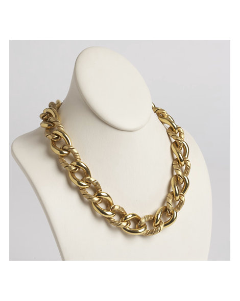 18kt Gold Curb-Link Necklace