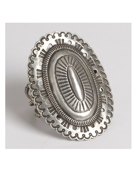 Contemporary Concho Cuff