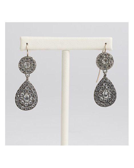 French Paste Drop Earrings