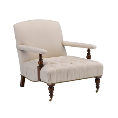 Oliver Chair with Tufted Seat