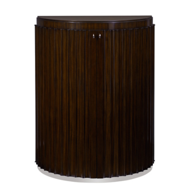 Penthouse Suite Fluted Commode - Tri-Color Santos