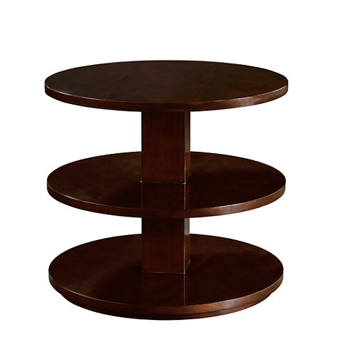 Fountainhead Tiered End Table   Occasional Tables   Furniture   Products   Ralph  Lauren Home   RalphLaurenHome.com