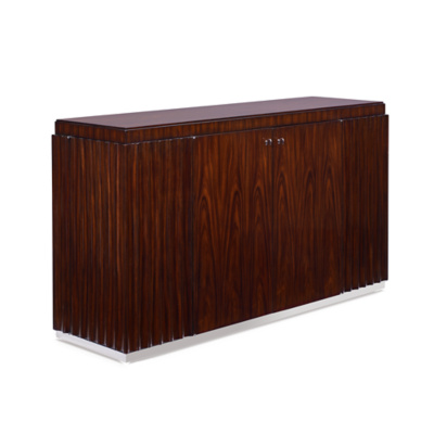 Penthouse Suite Fluted Console - Penthouse Rosewood
