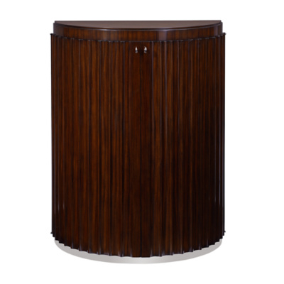 Penthouse Suite Fluted Commode - Penthouse Rosewood