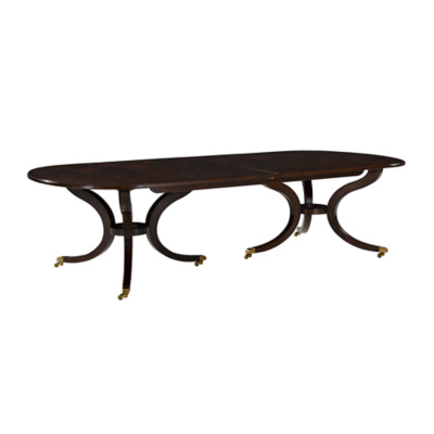 Alleyn Dining Table, Double Pedestal