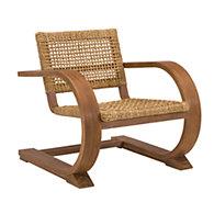 black palms arm chair