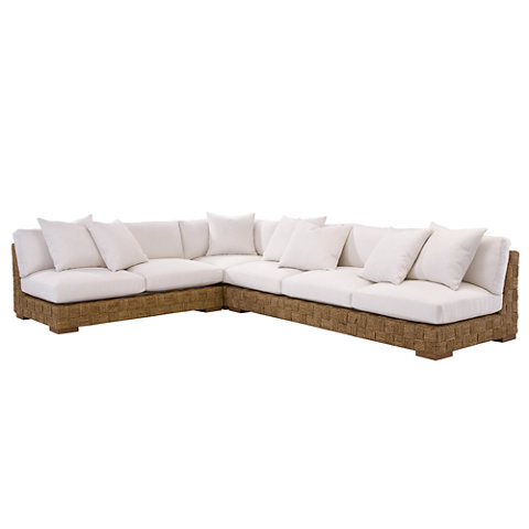 Black Palms Sectional - Sofas / Loveseats - Furniture - Products - Ralph Lauren Home - RalphLaurenHome.com  sc 1 st  Ralph Lauren Home : ralph lauren sectional - Sectionals, Sofas & Couches