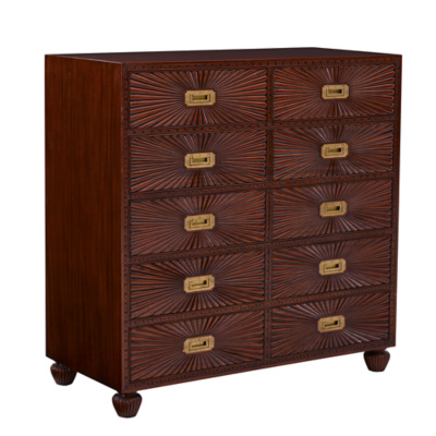Modern Sands Sunburst Chest