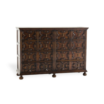 Jacobean Double Cabinet
