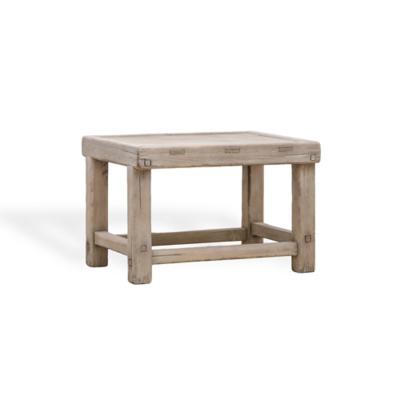 Winter Indigo Tabouret Side Table