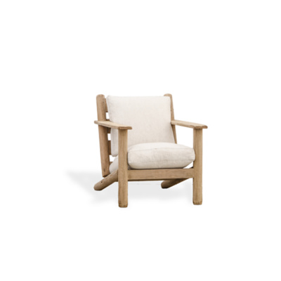 Post and Lintel Lounge Chair