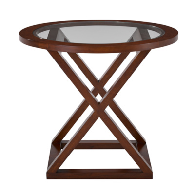 Jamaica Side Table in Modern Hollywood Finish