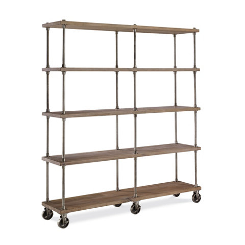 Etagere industriel armoires cabinets furniture products ralph laure - Etagere style industriel ...