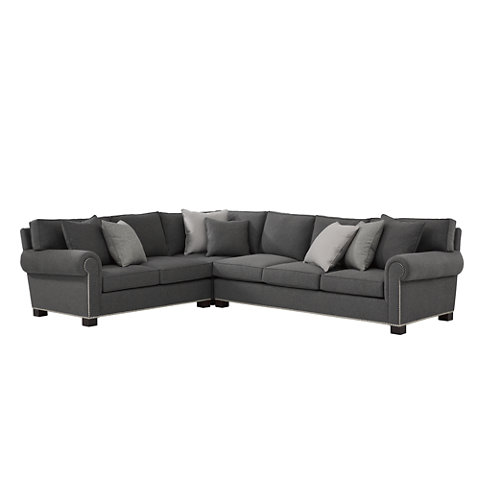 Jamaica Sectional - Sofas / Loveseats - Furniture - Products - Ralph Lauren Home - RalphLaurenHome.com  sc 1 st  Ralph Lauren Home : ralph lauren sectional - Sectionals, Sofas & Couches
