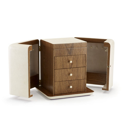 Delmere Jewelry Box In Ivory, Extra Large   Boxes   Tabletop / Accents    Products   Ralph Lauren Home   RalphLaurenHome.com