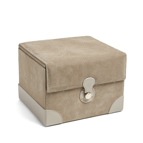 Brooke Small Jewelry Box Tan   Boxes   Tabletop / Accents   Products    Ralph Lauren Home   RalphLaurenHome.com