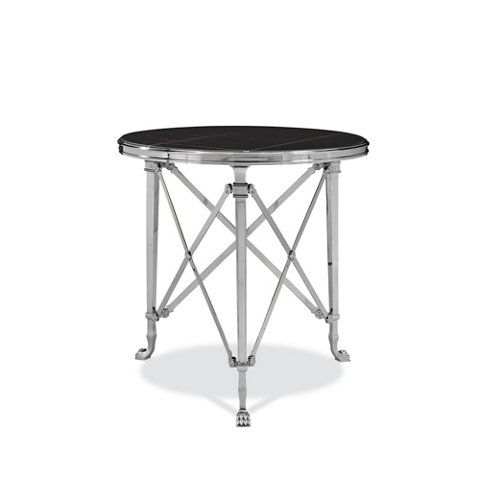 Cannes Gueridon Table, Black   Occasional Tables   Furniture   Products   Ralph  Lauren Home   RalphLaurenHome.com