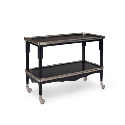 One Fifth Drinks Trolley - Black