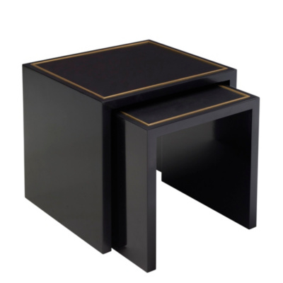 One Fifth Nesting End Tables, Black