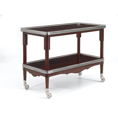 One Fifth Drinks Trolley - Estate Mahogany