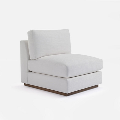 Desert Modern Sectional Slipper Chair   Chairs / Ottomans   Furniture    Products   Ralph Lauren Home   RalphLaurenHome.com