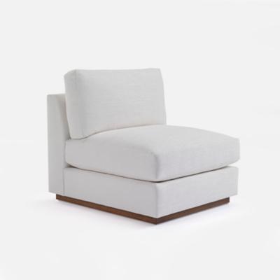 Desert Modern Sectional Slipper Chair