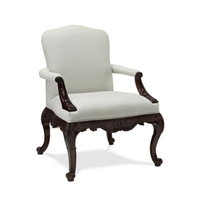 Crested Arm Chair