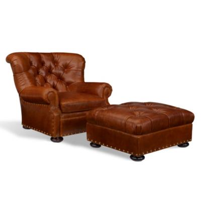 Writer's Chair & Ottoman