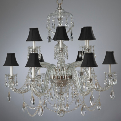 Duchess Large Chandelier with Cut Arms