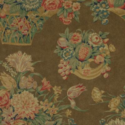 Harlington Floral - Brown