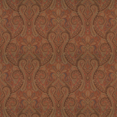 Assyria Paisley - Red