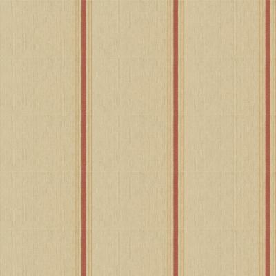 Stamford Stripe  - Dusty Red