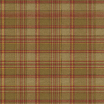 Annandale Plaid - Olive/Red
