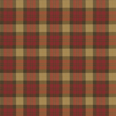 Kensall Plaid - Red/Tea