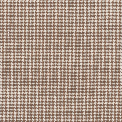 Trisan Houndstooth - Chocolate