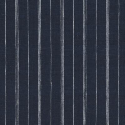 Mead Linen Stripe - Navy