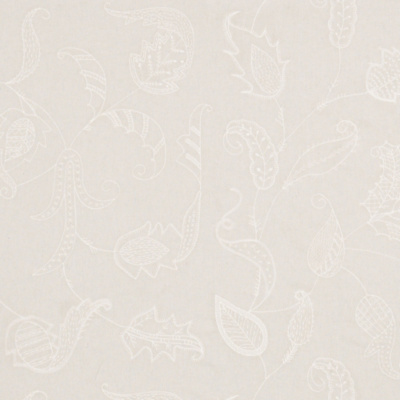 Opal Coast Embroidery - Blanc