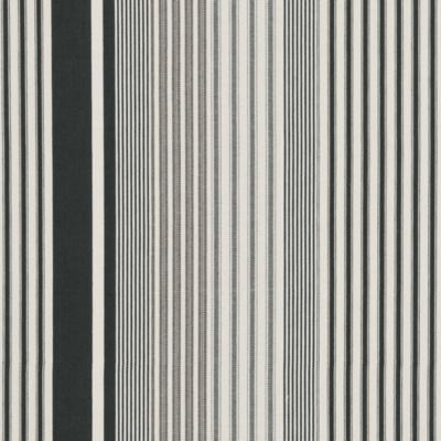 Jacques Ticking - Vintage Black