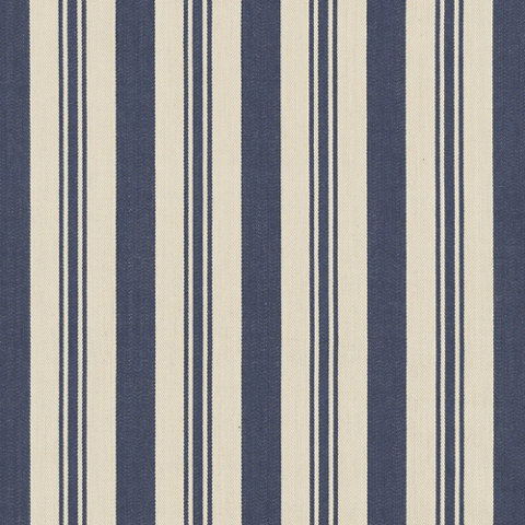 Arbaud Ticking Navy Fabric Products Products